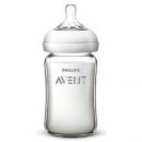 AVENT 新安怡 SCF679/17 宽口径自然顺畅玻璃奶瓶 240ml127.5元包邮(合42.5元/件)