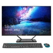 AOC AIO721 23.8英寸超薄IPS屏一体机台式电脑(八代i5-8400 8G 120GSSD 1T双硬盘 双频WiFi 蓝牙 商务键鼠)
