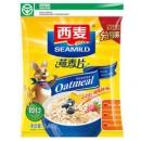 SEAMILD 西麦 即食燕麦片 袋装 1480g21.9元,另赠175g装