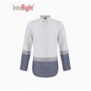 InteRight 7469460 男士色织休闲衬衫 *2件103.5元包邮(合51.75元/件)