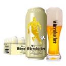 德国进口 Wurenbacher瓦伦丁小麦啤酒 500ml 24听99.9元