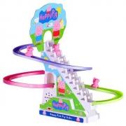 DODOELEPHANT豆豆象 小猪爬楼梯玩具电动轨道车*2件33元包邮(下单立减合,16.5元/件)