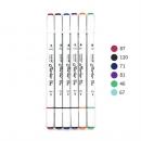 GRASP 掌握  510系列 双头马克笔 6色 3.9元包邮(需用券)¥4