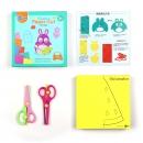 WeVeel 儿童剪纸剪刀套装(含200张纸+剪刀*2把) 18元包邮(需用券)¥18