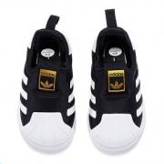 adidas 阿迪达斯 AQ0205 儿童三叶草贝壳头