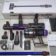 Dyson 戴森 V11 Absolute 无线吸尘器各吸头清洁体验