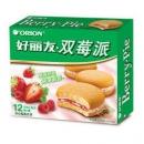 Orion 好丽友 双莓派 12枚 276g *5件39.65元(合7.93元/件)