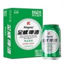 限地区:Kingway 金威啤酒 精品超爽 8度 330ml*24听 *2件49.9元(2件5折)