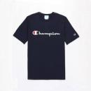 Champion T1919G-549465 草字刺绣 男女款T恤*2件290元包邮(合145元/件)
