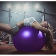 中欧 健身瑜伽球 55cm 送配件 16.9元包邮(需用券)¥17