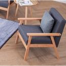 迈上 5002J 实木小户型单人沙发 179元包邮(需用券)¥179