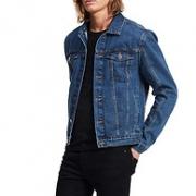 Calvin Klein/卡尔文·克莱恩  男式 牛仔卡车夹克