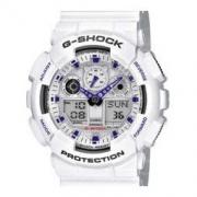 CASIO 卡西欧 G-SHOCK GA-100A-7AER 男士双显运动手表
