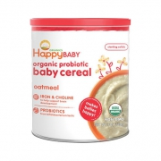 88VIP:HAPPYBABY 禧贝 有机婴儿燕麦米粉 198g *2件 51.22元包邮(需用券,合25.61元/件)¥51