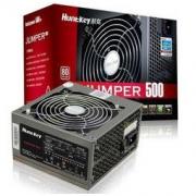 Huntkey 航嘉 JUMPER 500 非模组电源(500W、80PLUS白牌)