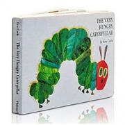 The Very Hungry Caterpillar Board 饥肠辘辘的毛毛虫 英文原版 *5件