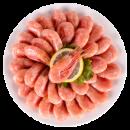 海买 加拿大进口 熟冻北极虾甜 400g*3件69元包邮需拍3件