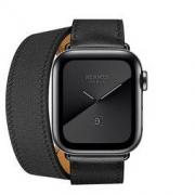 新品发售: Apple 苹果 Watch Series 5 Hermès 智能手表(深空黑色不锈钢、Double Tour表带、40mm、GPS+蜂窝)