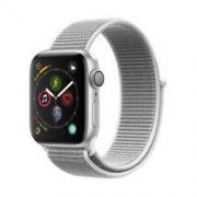 Apple Watch Series 4智能手表(GPS款 40毫米银色铝金属表壳 海贝色回环式运动表带)