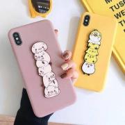 GGUU iPhonex 手机壳 立体小鸡