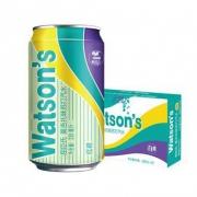Watsons屈臣氏 莫吉托味苏打汽水 330ml*24罐*2件