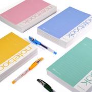 【5本】A5笔记本子软面记事本¥3
