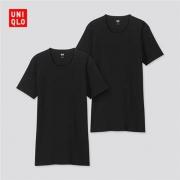 14日0点:UNIQLO 优衣库 SUPIMA COTTON 418817 圆领T恤2件装