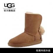 UGG冬季新款女士雪地靴经典水晶系列链条休闲短靴 1095717