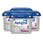 Aptamil 德国爱他美 白金版 幼儿配方奶粉 2段 800g  4盒装 414.5元包邮(前200件)¥819