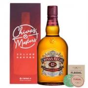PLUS会员:Chivas芝华士洋酒 12年苏格兰威士忌 1000ml*2件