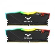 Team 十铨 DELTA RGB 16GB(8GB×2) DDR4 3000 台式机内存条 套装