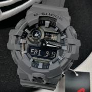 CASIO 卡西欧 G-SHOCK GA-700UC-8A 男士双显防水防震运动腕表