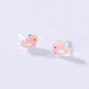 alivinee 阿莉维妮 S925银粉色小鸟耳钉(配银耳塞) 35元包邮(需用券)¥35