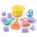 beiens 贝恩施 软胶沙滩玩具 8件套 11.9元¥17