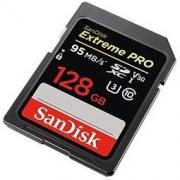 SanDisk 闪迪 Extreme PRO SDXC UHS-I U3 SD存储卡 128GB