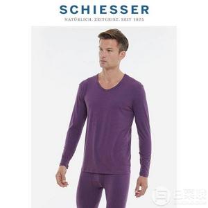 Schiesser 德国舒雅 男款舒暖棉保暖内衣套装 多色