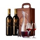 DOCG级、内有晒单, lerovole 巴贝拉干红 750mlx2支 礼盒装188元包邮,带皮箱、赠配件