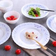 Luminarc 乐美雅 微风系列 白玉玻璃餐具 10头 29.9元包邮(需用券)