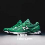 US10/10.5码,New Balance 新百伦 美产 990V4 男款第四代总统慢跑鞋M990NG4新低606.22元