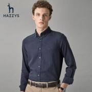 LG时装旗下中高端品牌 Hazzys 哈吉斯 男士混羊毛衬衣