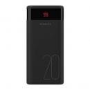 双11预售:ROMOSS/罗马仕 20000毫安数显大容量充电宝Ares2079元包邮(需用券)