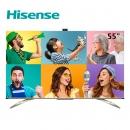 历史低价、双11预售:Hisense 海信 HZ55S7E 55英寸 4K 液晶电视 5999元包邮(21日付100元定金,11月11日付尾款)¥5999