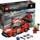 LEGO 乐高 SpeedChampion 超级赛车系列 75886 法拉利95元包邮(需领券)