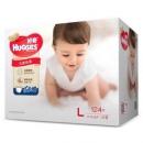 Huggies 好奇 金装成长裤 L号 124片 *4件 500元包邮(需用券,合125元/件)