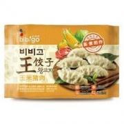 bibigo 必品阁 玉米猪肉 王饺子 490g12.56元
