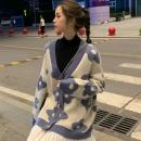 慵懒风韩版洋气针织开衫 34.9元包邮¥35