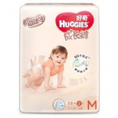 HUGGIES 好奇 铂金装 婴儿成长裤 M60片 *7件479元包邮(合68.43元/件)