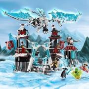 LEGO 乐高 Ninjago 幻影忍者系列 70678 放逐君王的城堡
