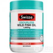 Swisse 无腥味深海鱼油软胶囊 1000mg*400粒*391元