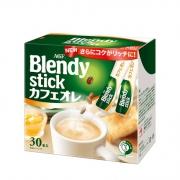 日本味之素旗下 AGF 三合一速溶牛奶咖啡 30条